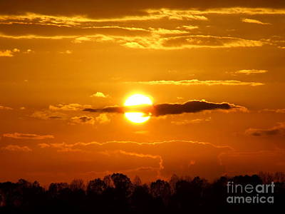 Photograph - What Do You See Sunset by Reid Callaway