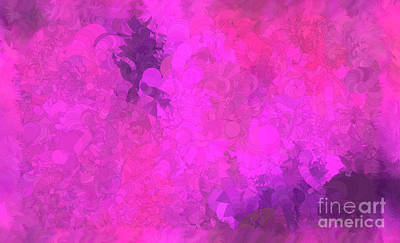 Holley Jacobs Digital Art - What Do You Want Pink by Holley Jacobs