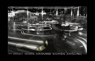 What Goes Around Comes Around Art Print by Mike McGlothlen