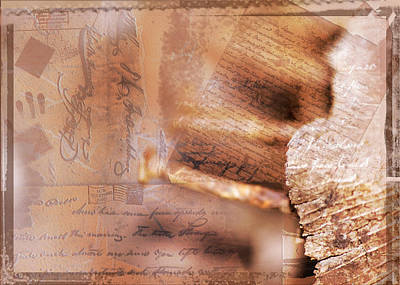 Photograph - What Happened To Pen And Paper by Shelley Bain