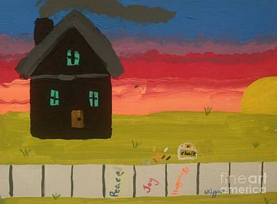 Kansas Artist Painting - What Home Means To Me by PainterArtist FIN