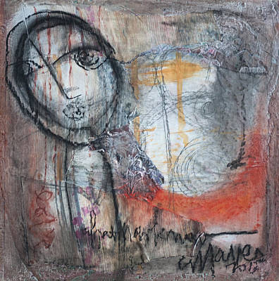 Painting - What I Now Know by Laurie Maves ART
