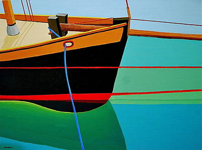 Bow Sprit Painting - What I See by Stephen Abbott