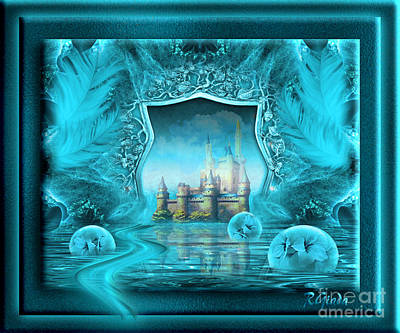Art Print featuring the digital art What If - Fantasy Art By Giada Rossi by Giada Rossi