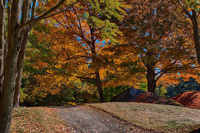Photograph - What Is Just Over The Hill by Jeff Folger