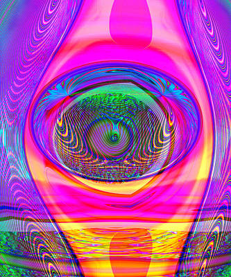 Digital Art - What Is Seen by Wendy J St Christopher