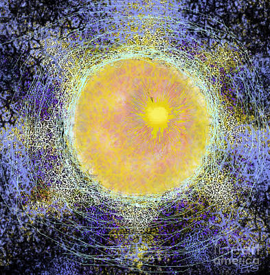 Digital Art - What Kind Of Sun V by Carol Jacobs