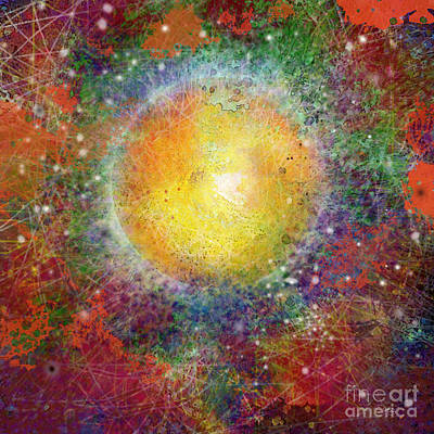 Digital Art - What Kind Of Sun Viii by Carol Jacobs