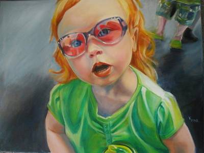 Painting - What Mama? by Kaytee Esser