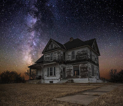 Abandoned Houses Photograph - What Once Was by Aaron J Groen