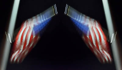 American Flag Photograph - What Supports Your Liberty? 2013 by James Warren