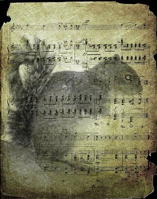 Altered Art Digital Art - What Would He Sing by Gothicrow Images