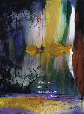 What You Seek Art Print by Stella Levi
