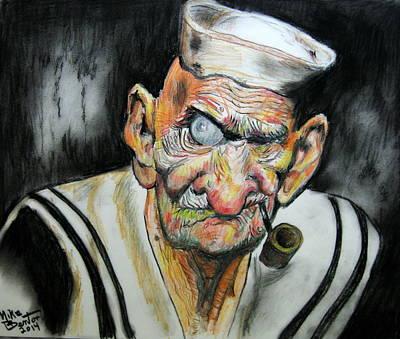 Whatever Happend To Popeye? Art Print