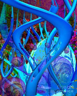 Digital Art - Whats In The Garden? by Joseph Mora