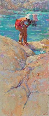 Painting - What's In The Rockpool? by Jackie Simmonds