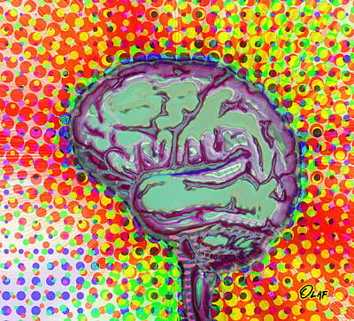 What's On Your Mind Art Print by Del Gaizo