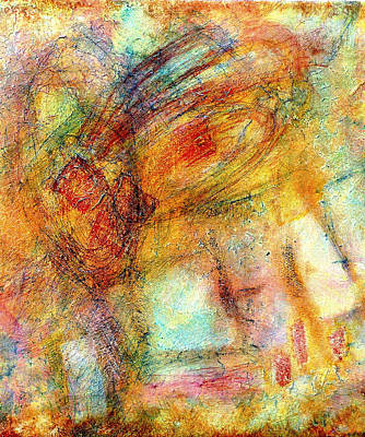 Vesna Antic Abstract Paintings - Whats The Buzz? by Jim Whalen