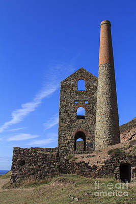 Photograph - Wheal Coats Cornwall by Brian Roscorla