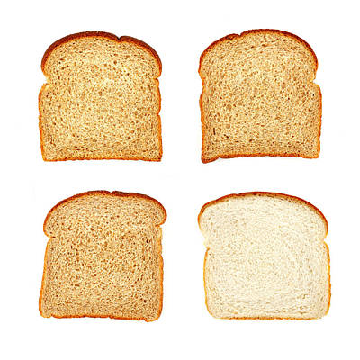 Whole Wheat Photograph - Wheat And White by Jim Hughes