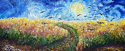 Painting - Wheat Field by Sebastian Pierre