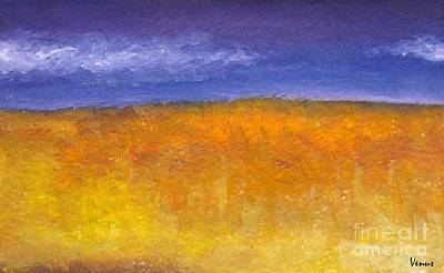 Modernism Mixed Media - Wheat by Venus