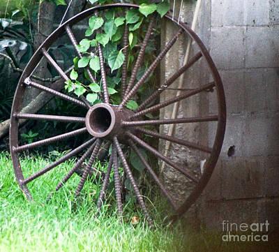 Photograph - Wheel C by D C