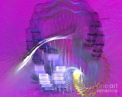 Artport Digital Art - Wheel Of Fortune by Jeanne Liander