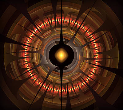 Digital Art - Wheel Of Fortune by Radoslav Nedelchev