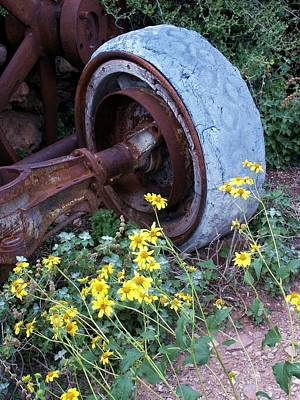Photograph - Wheel Of Jerome by R B Harper