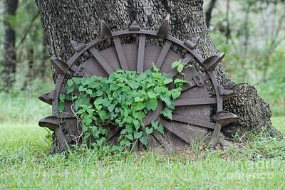 Wheel Of Steel Art Print by GD Rankin