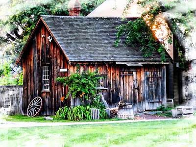 Photograph - Wheel Shop by Marcia Lee Jones