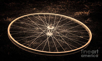 Wheel Art Print by Sinisa Botas