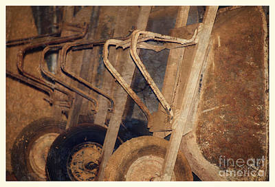 Photograph - Wheelbarrow Still Life by Sally Simon