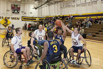 Kids Alphabet - Wheelchair Basketball by Jim West
