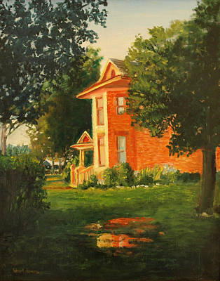 Wheeler Farmhouse Original by Robert Jenson