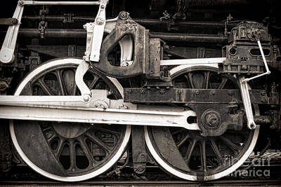 Photograph - Wheels And Rods by Olivier Le Queinec
