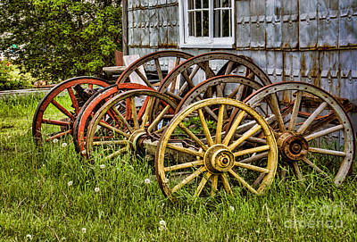 Photograph - Wheels At Rest by Gerda Grice