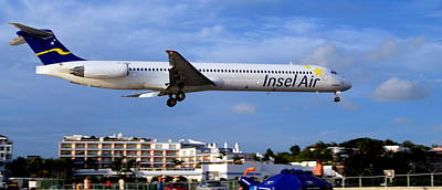 Photograph - Insel  Air St. Maarten by Caroline Stella