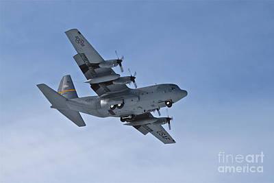 C-130 Wall Art - Photograph - Wheels Down by Rick  Monyahan