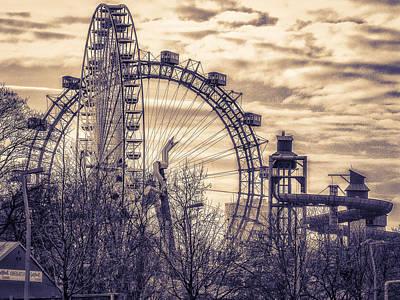 Riesenrad Photograph - Wheels by Ernst Gamauf
