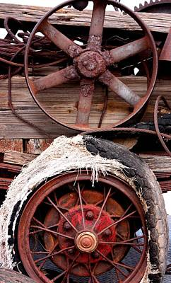 Photograph - Wheels Of Misfortune by Joe Kozlowski