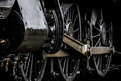 Photograph - Wheels Of Steam by Ken Brannen