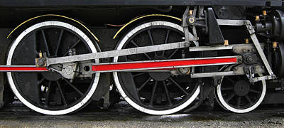Photograph - Wheels Of The Kingston Flyer by Joe Bonita