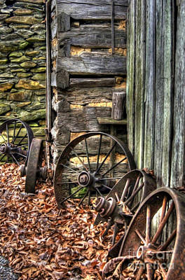 Photograph - Wheels Of Time by Benanne Stiens