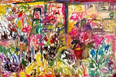 Painting - Whelans Study 1 by Mykul Anjelo