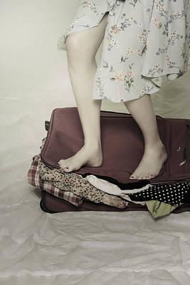 When A Woman Travels Art Print by Joana Kruse