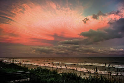 Skys Photograph - When Angels Blush by Karen Wiles