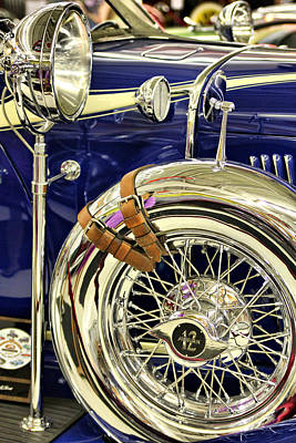 Photograph - When Cars Were Art IIi by Brian Davis