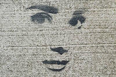 Photograph - Audrey Hepburn Sidewalk Art by Tikvah's Hope